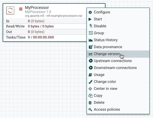 Processor Change Version