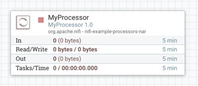 Processor Version Information Example