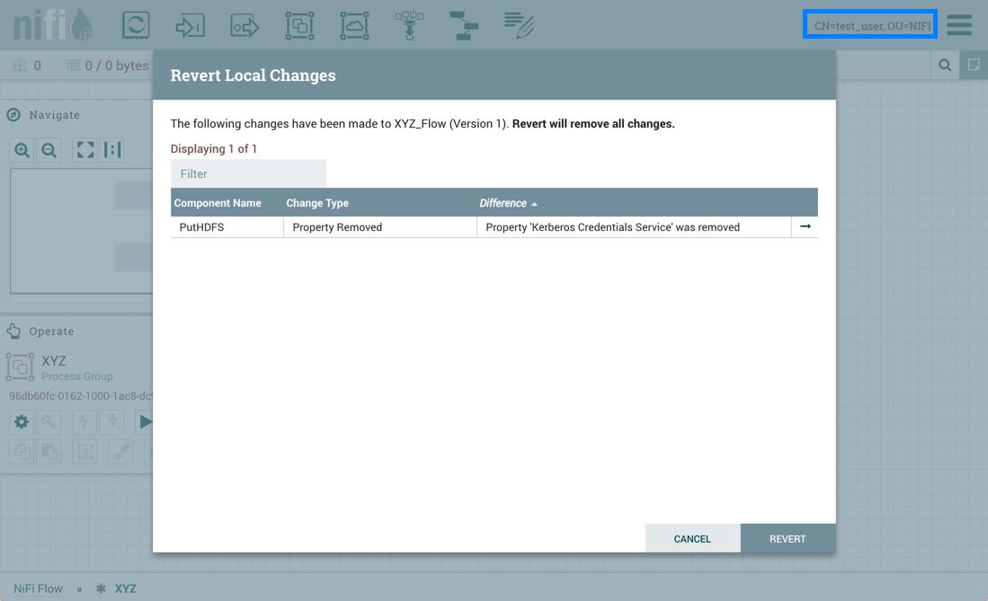 Test_user Revert Local Changes